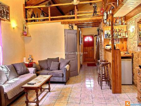 EXCLUSIVITE MAISON AVEC APPARTEMENT INDEPENDANT 150M2 L'ENSEMBLE A VENDRE A MORMOIRON  PROCHE COMMODITES AU C