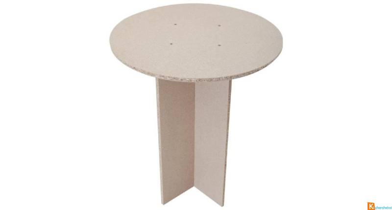 table base à juponner