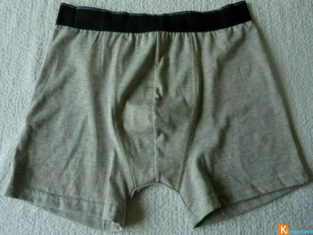 Boxer gris taille M neuf (289)