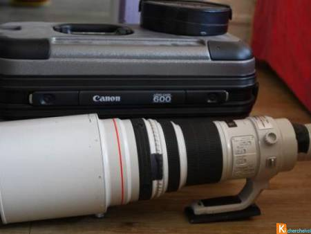 objectif canon 600 mm
