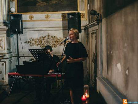 Duo chanteuse pianiste messe mariage Val d'Oise