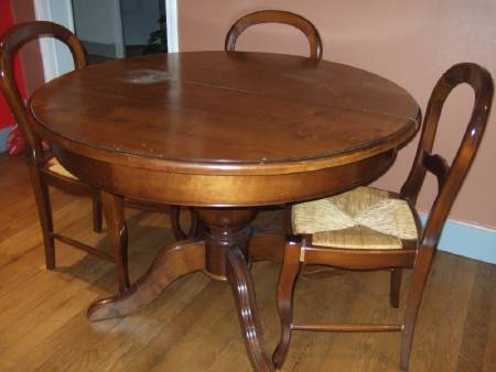TABLE LOUIS PHILIPPE MERISIER