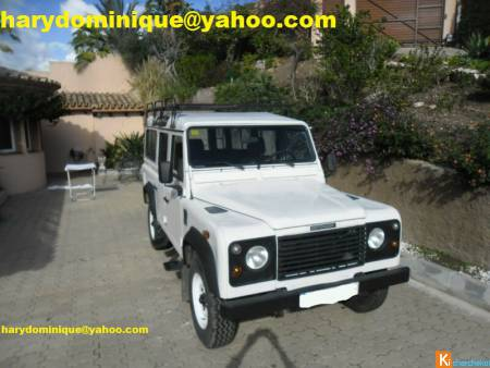 Land Rover Defender 110 Tdi 9 places 4x4