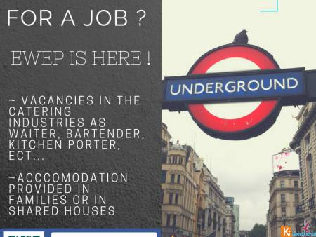 Jobs a Londres en restauration et hotellerie
