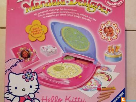 "Jeu ""Mandala Hello Kitty""."