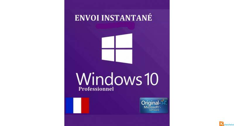 Windows 10 Pro Professionnel Licence Clé D'Activat