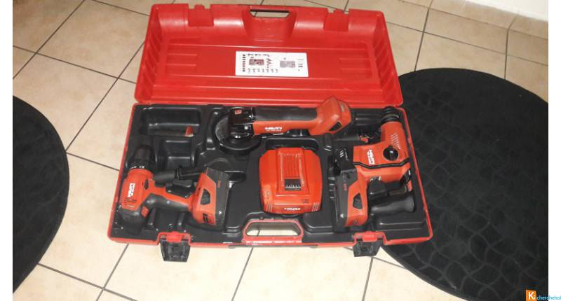 Kit hilti 3 machine