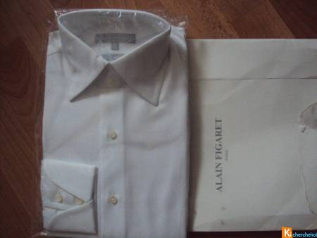 Chemise blanche Alain Figaret
