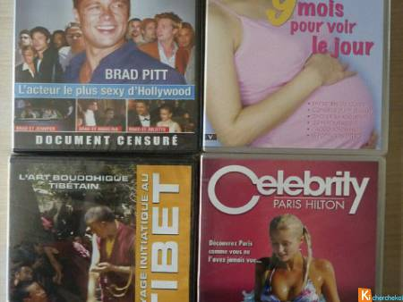 Lot 4 DVD divers neuf (lot9)