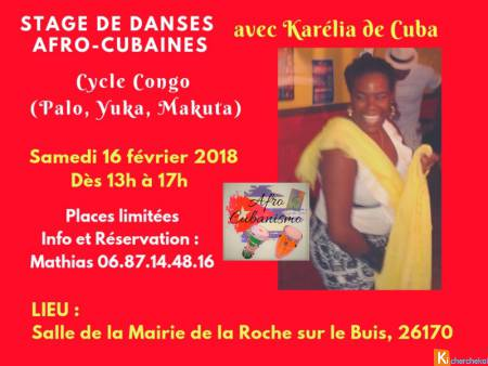 Stages de danses afro-cubaines