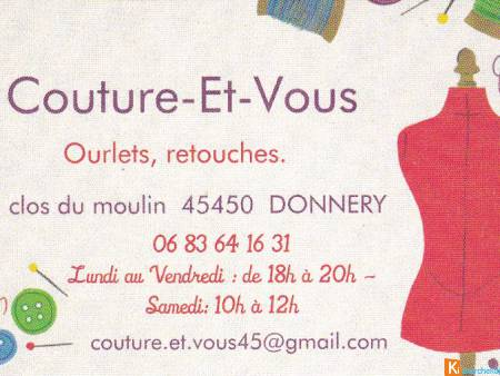 couture - ourlets - retouches