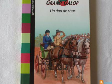 Livre Grand Galop Un duo de choc