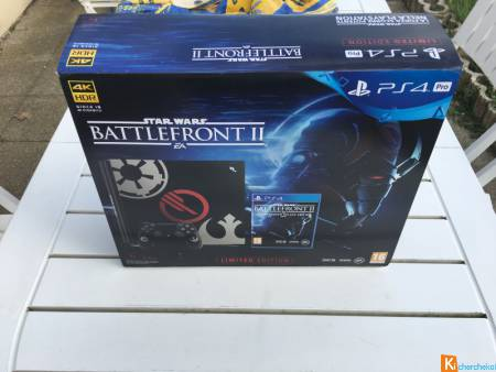 PlayStation Pro 4 pack édition STAR WARS