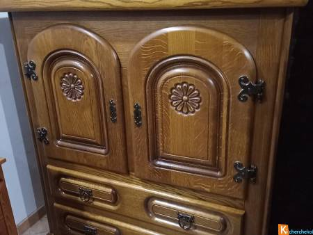 Lot de 2 Buffet Salon Haut