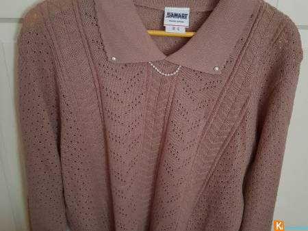 Pull beige taille 46