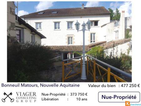 Ensemble immobilier de 7 appartements et 1 local commercial - Bonneuil-Matours