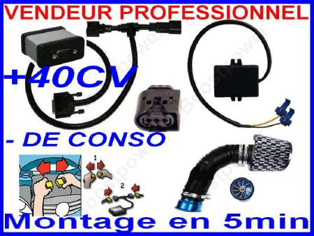 BOITIER PUCE POWER SYSTEM PRO
