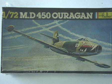 MAQUETTE HELLER MD450 OURAGAN