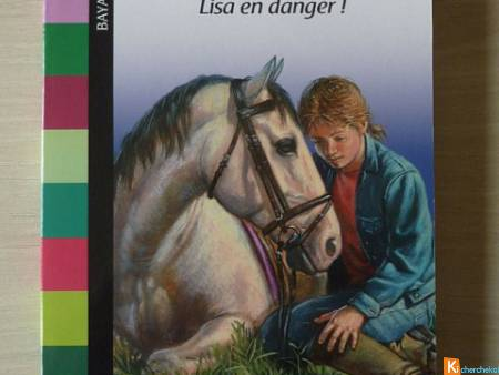 Livre Grand Galop n°659 Lisa en danger !