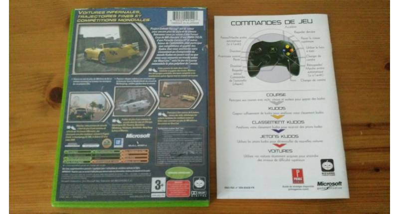 Jeu Xbox Project Gotham Racing
