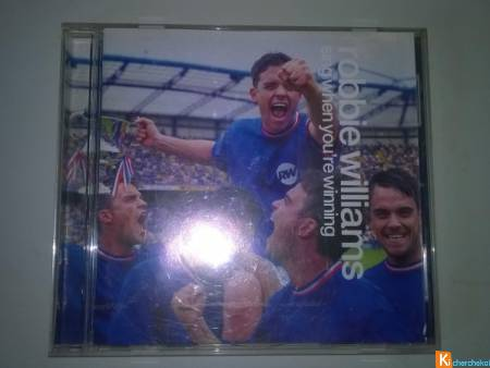CD Robbie Williams   Sing When You're Winning