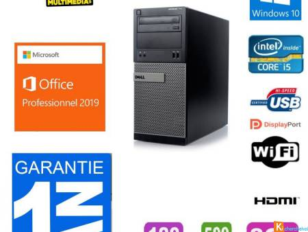 PC DELL Optiplex 3020 Core i5-4790 120 ssd 500 go