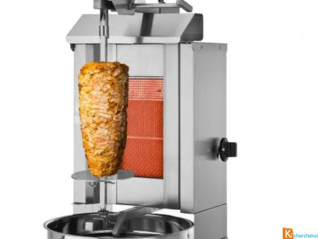 Machine Kebab 1 Brûleur 5 Kg Maximum