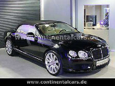 Bentley Continental GTC V8 1.