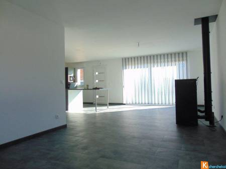 Plain-pied individuel neuf, 3 chambres, garage