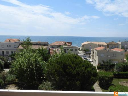 CARNON F2 + 2 TERRASSES VUE IMPRENABLE MER + PARKING
