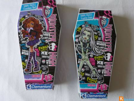 Lot Puzzle Monster High Stein/Wolf neuf (lot2)