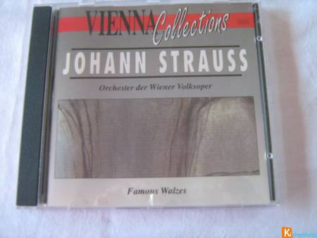 CD Vienna Collections - Johann Strauss