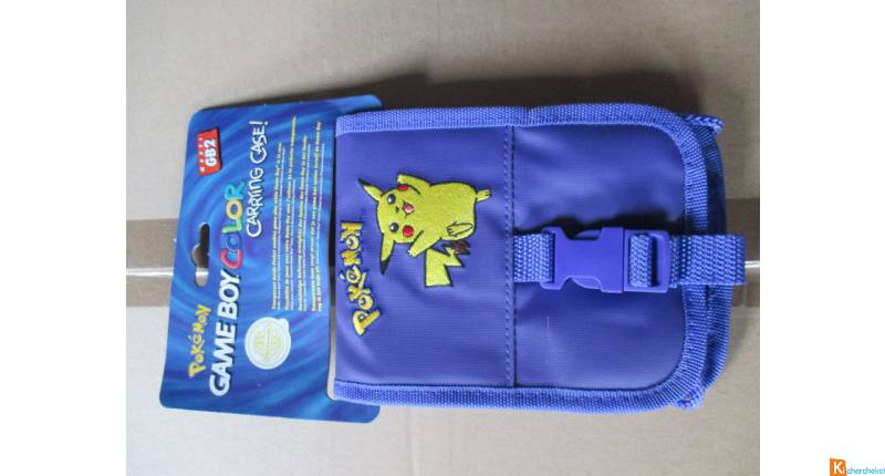 game boy color Pokemon pochette