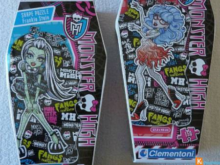 Monster High Frankie Stein et Ghoulia Yelps (lot4)