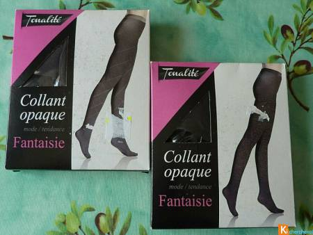 Lot 2 collants fantaisie taille 3 neuf (93)