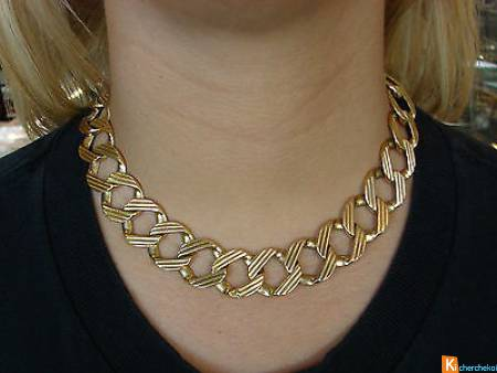 Collier cartier or jaune 18k