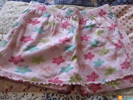 short jupe rose