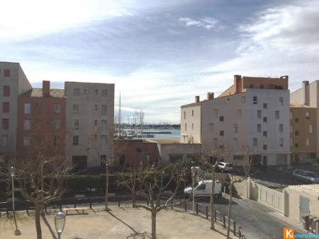 Cap d'agde, Quartier port, joli T2, loggia, parking