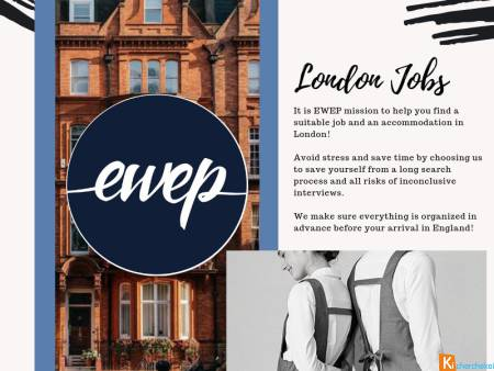 Jobs in restaurants and bars (LONDON)