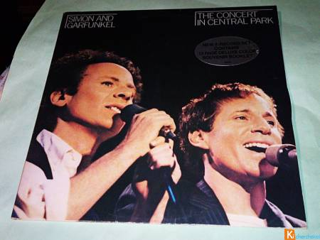 Vinyle SIMON AND GARFUNKEL / Concert Central Park
