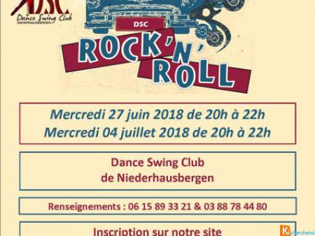 STAGE DE ROCK'N'ROLL  - niveau Perfectionnement 3