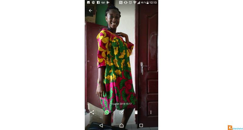 Caba  tenue Africa standard couture traditionelle