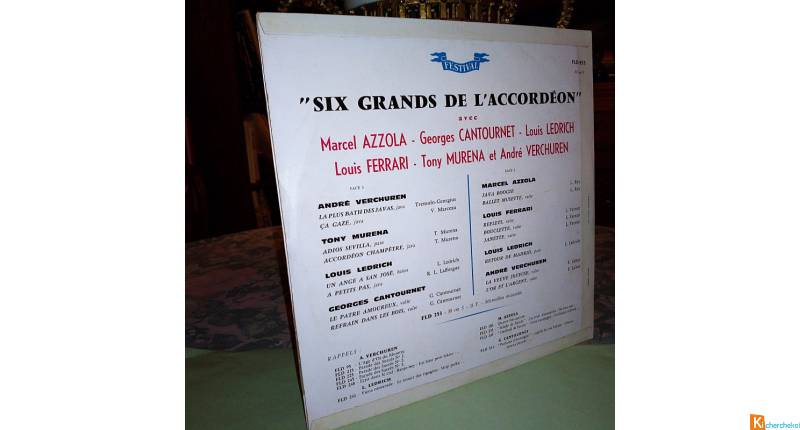 Les six grands de l'accordéon