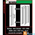 Kit Cofralis GTL-13 modules 2 x 1300 mm REHAU 7338