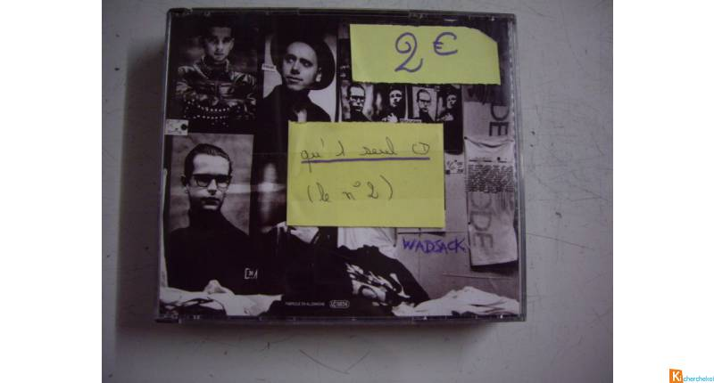 CD de David BOWIE et DEPECHE MODE
