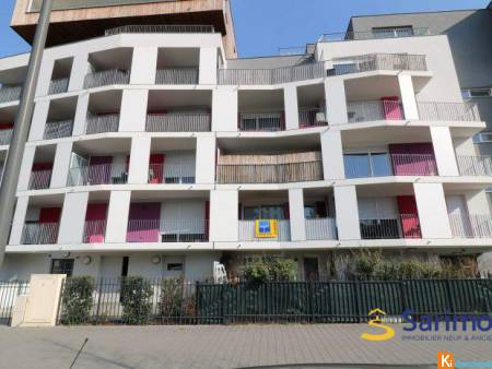 APPARTEMENT 3P RECENT 63 m² + TERRASSE - Strasbourg