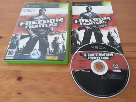 Jeu Xbox Freedom Fighters