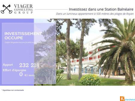 Investissement -Appartement de standing à Royan - Royan