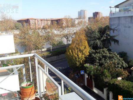 Appartement T4 - Balcon - Parking - Vue Garonne