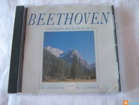 CD Beethoven - Concerto pour piano n° 5